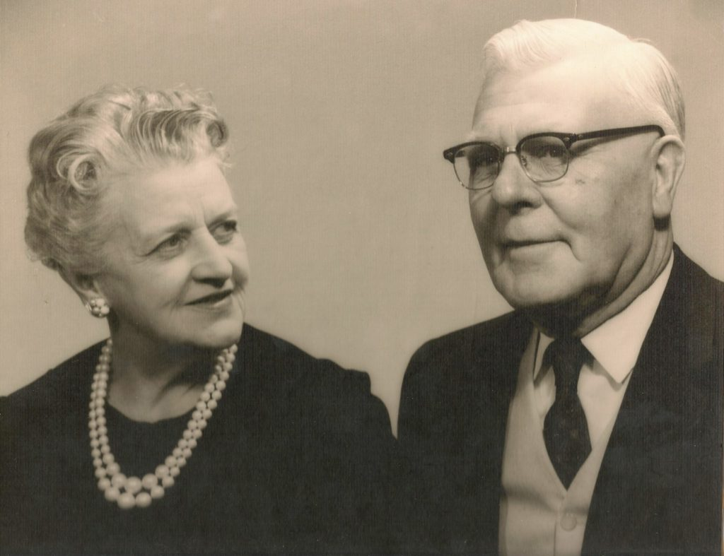 Hazel and Earl in later life