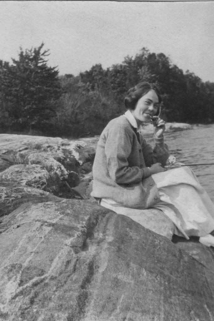 Helen Price Fishing