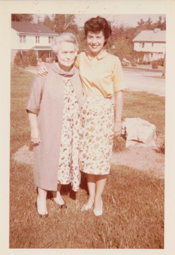 Helen Price and Betty Warner