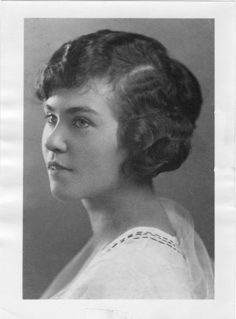 Helen Price as a Young Woman