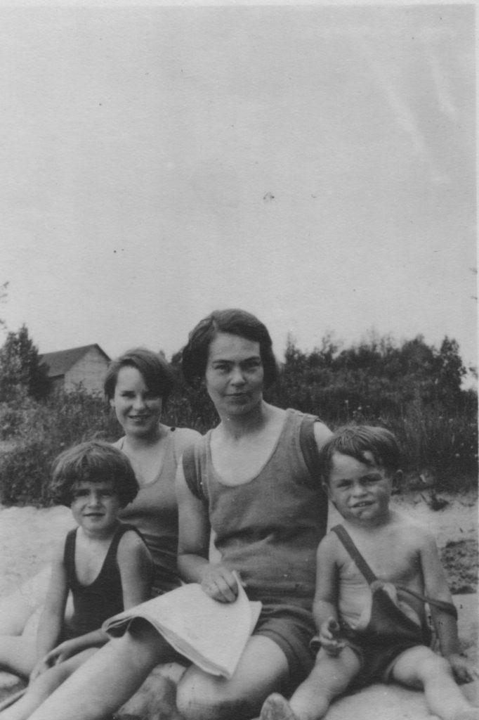 Helen with Joe and Betty