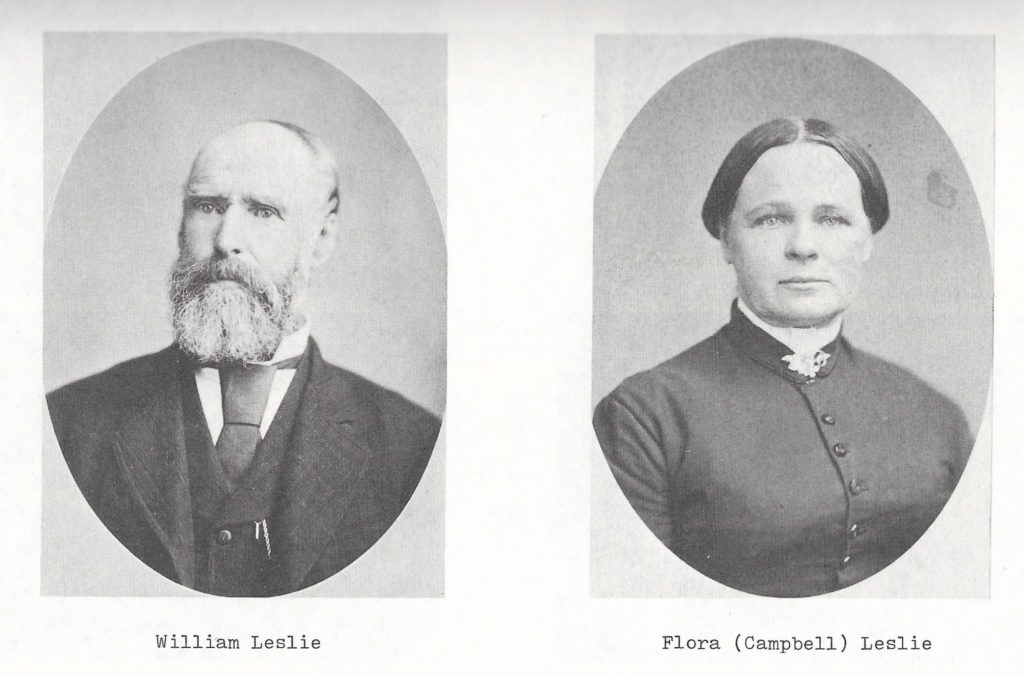 William Leslie and Flora Campbell